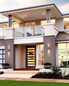20 Mẫu thiết kế nhà 2 tầng mặt tiền 6m hot nhất năm 2020