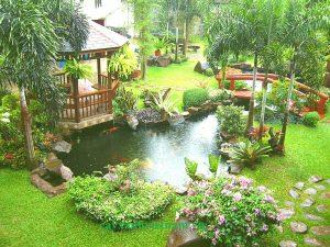 Thiết kế sân vườn theo ý tưởng tạo liên kết
