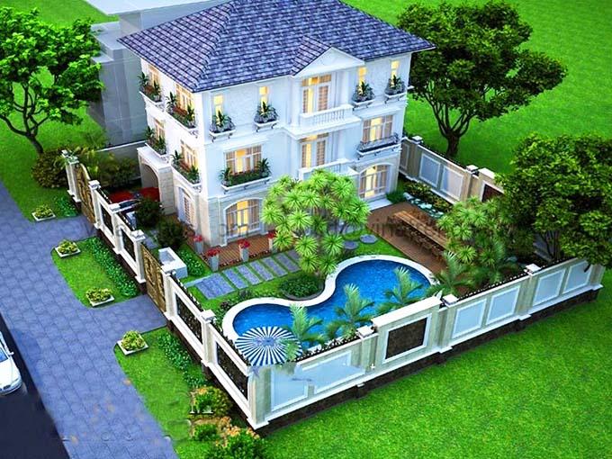 """Chi phí xây dựng nhà vườn """"mềm"""" hơn so với những kiến trúc khác"""