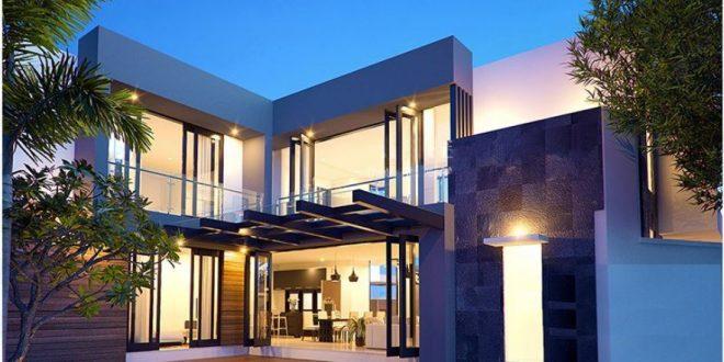 Ngoại thất mẫu thiết kế biệt thự 2 tầng phong cách Châu Âu