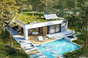 Mẫu thiết kế nhà vườn cấp 4 mái thái khiến bạn tròn mắt ngắm nhìn