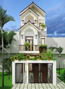 Kiến trúc nhà phố kết hợp mái thái mang đến vẻ đẹp cuốn hút