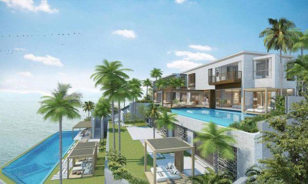 Mẫu số 4: Mẫu biệt thự 3 tầng này trở nên đẳng cấp hơn khi thiết kế thêm bể bơi