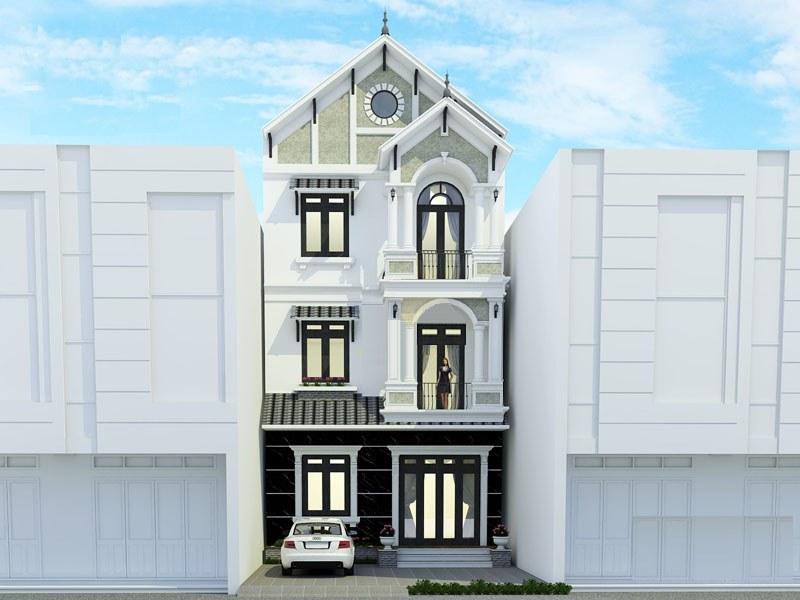 Phối cảnh 3D công trình biệt thự 2 tỷ 100m2 tại Hà Nam
