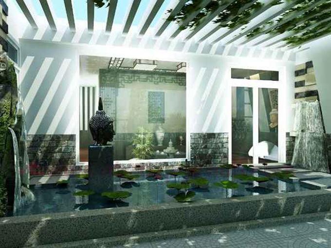 25 Mẫu thiết kế sân thượng vườn nhà phố tuyệt vời nhất 2021 - Mẫu sân thượng 05
