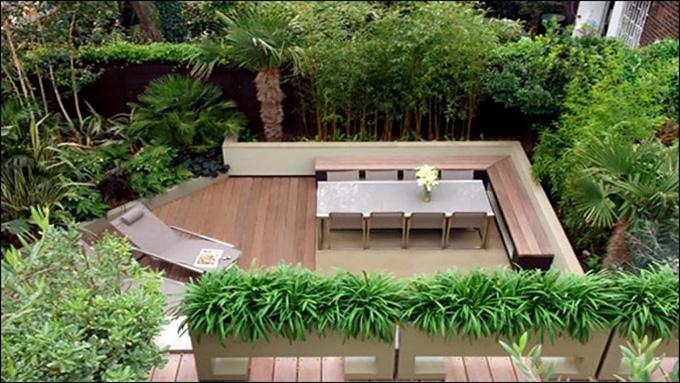 25 Mẫu thiết kế sân thượng vườn nhà phố tuyệt vời nhất 2021 - Mẫu sân thượng 06
