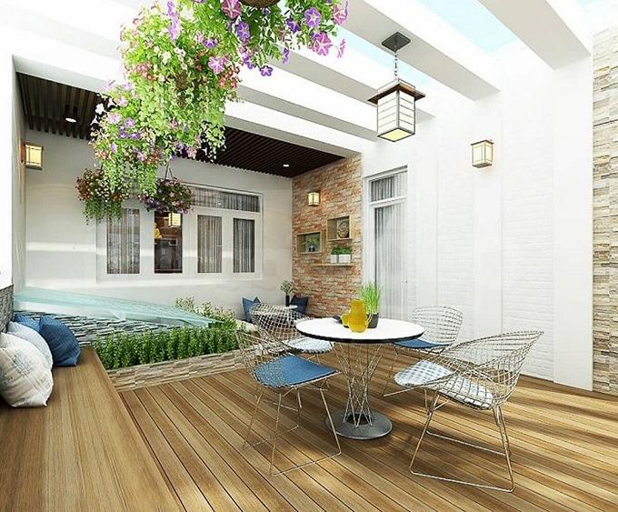 25 Mẫu thiết kế sân thượng vườn nhà phố tuyệt vời nhất 2021 - Mẫu sân thượng 03