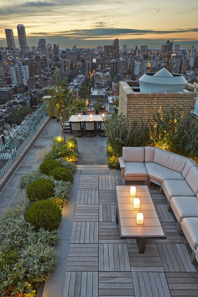 22 Mẫu thiết kế sân thượng nhà phố tuyệt vời nhất 2021 - Mẫu sân thượng 20